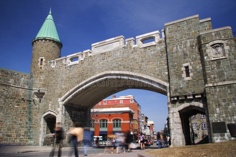 De Stad van Quebec royalty-vrije stock fotografie