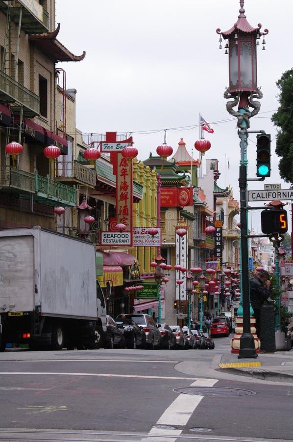 De stad van San Francisco China stock fotografie