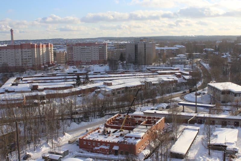 De stad van Sergievposad royalty-vrije stock foto's