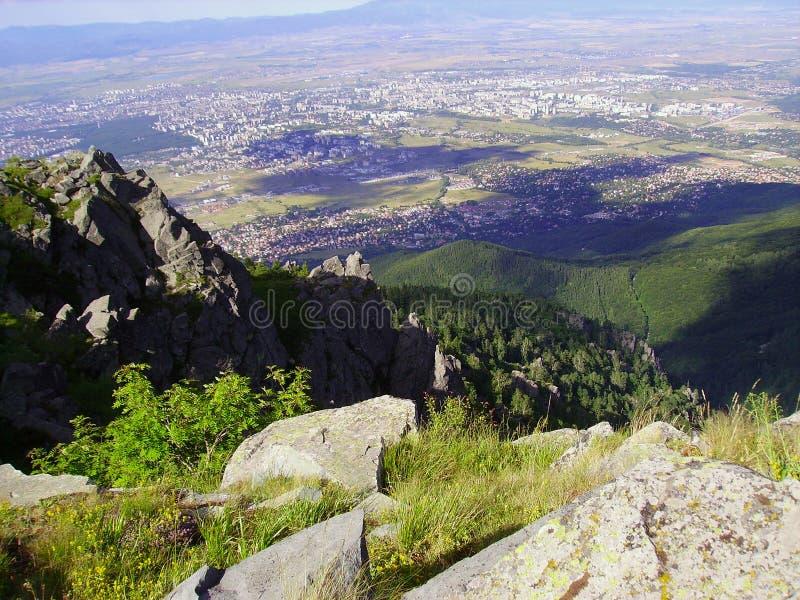 De Stad van Sofia - Bulgarije stock afbeeldingen