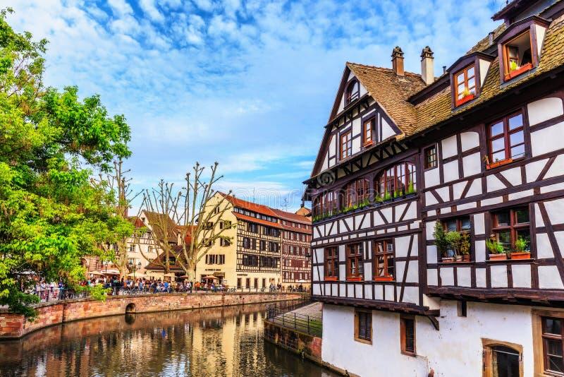 De stad van Straatsburg royalty-vrije stock foto