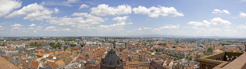 De Stad van Straatsburg - Panorama royalty-vrije stock foto's
