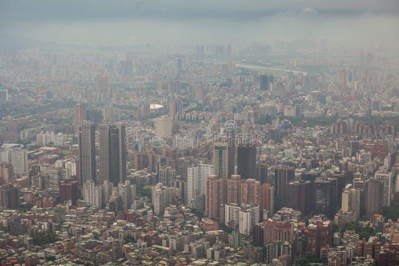 De stad van Taipeh in Taiwan stock foto