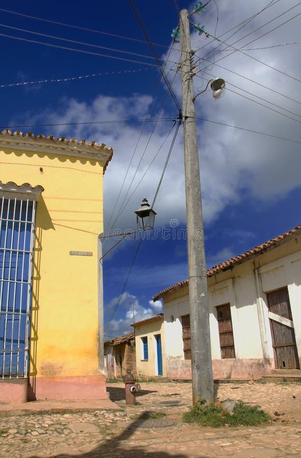 De stad van Trinidad, Cuba royalty-vrije stock afbeelding