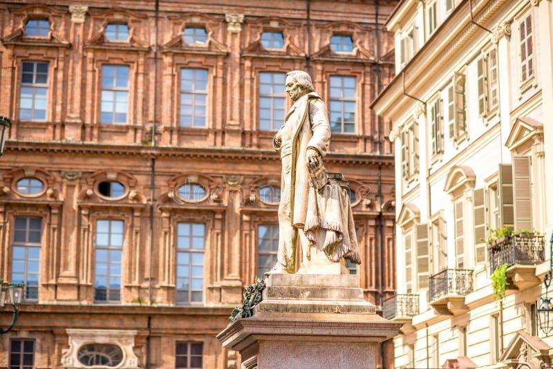 De stad van Turijn in Italië royalty-vrije stock foto