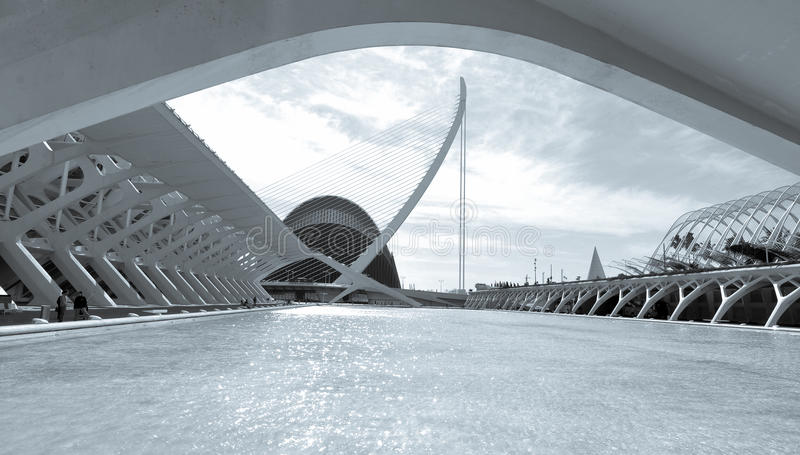 De stad van Valencia, Spanje royalty-vrije stock afbeelding
