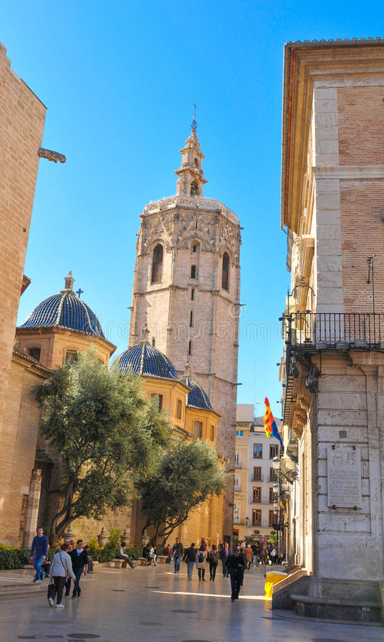 De stad van Valencia, Spanje royalty-vrije stock fotografie