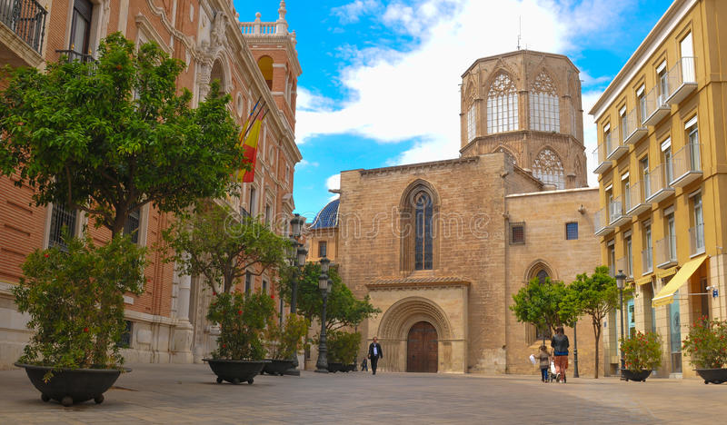 De stad van Valencia, Spanje royalty-vrije stock afbeeldingen
