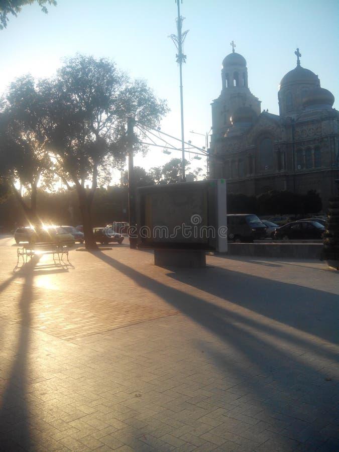 De stad van Varna royalty-vrije stock afbeelding