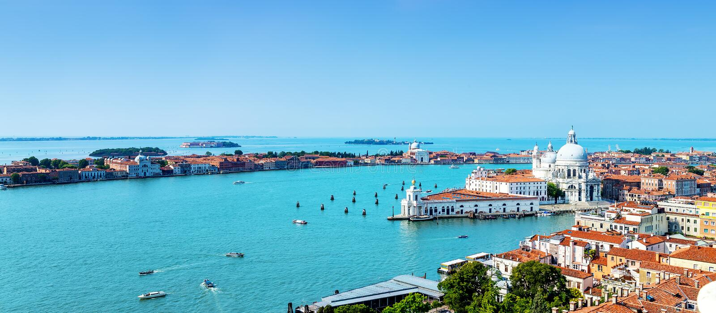 De stad van Venetië, Italië royalty-vrije stock foto's