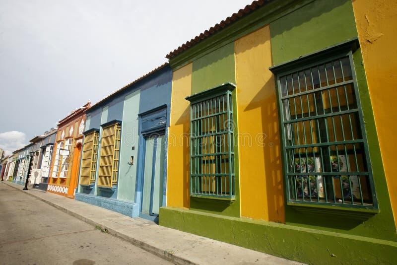 DE STAD VAN VENEZUELA MARACAÏBO VAN ZUID-AMERIKA stock fotografie
