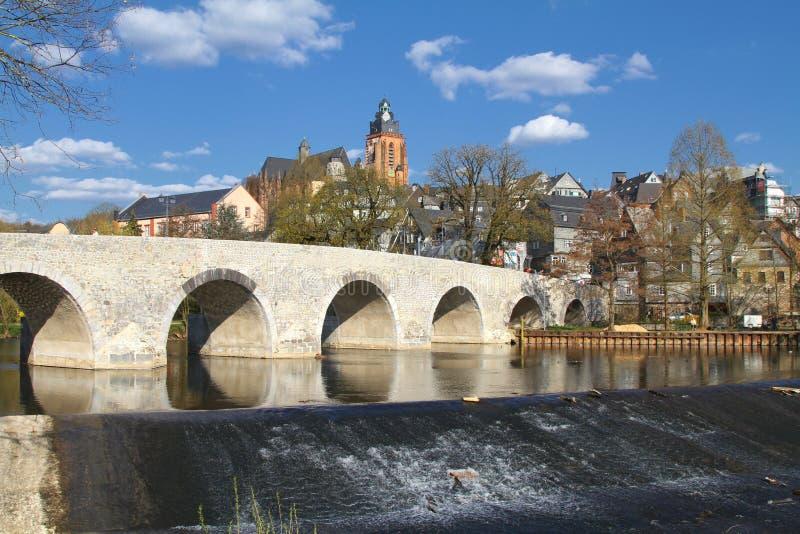 De Stad van Wetzlar stock afbeeldingen