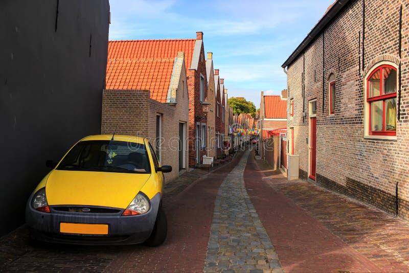 Download De Stad Van Zierikzee, Nederland Stock Afbeelding - Afbeelding bestaande uit nederland, reis: 39102069