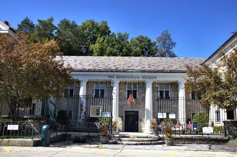 De stads historische erfenis van Benningtonvermont de V.S. stock afbeeldingen