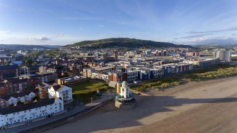 De Stads vroeger waarnemingscentrum van Swansea royalty-vrije stock afbeeldingen