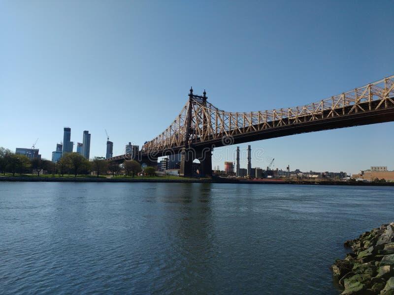 De Stadsbrug van New York, Queensboro-Brug, NYC, NY, de V.S. royalty-vrije stock foto