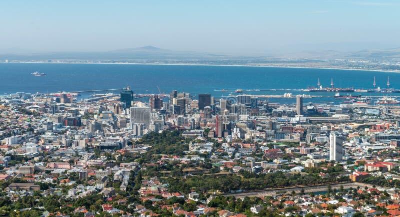 De stadscentrum van Cape Town stock fotografie