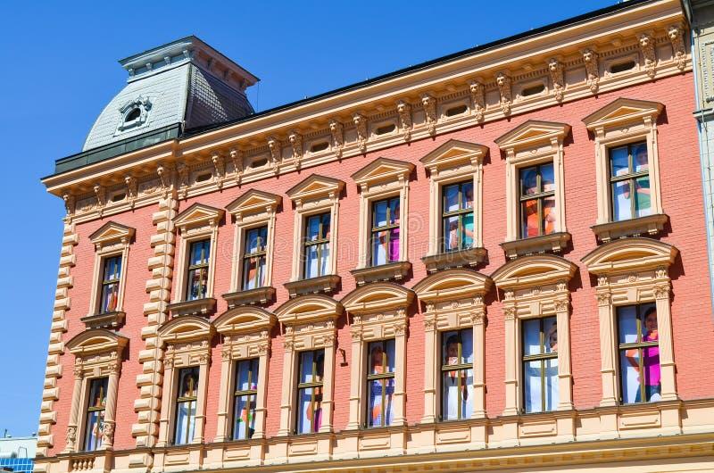 De stadscentrum van Zagreb stock fotografie