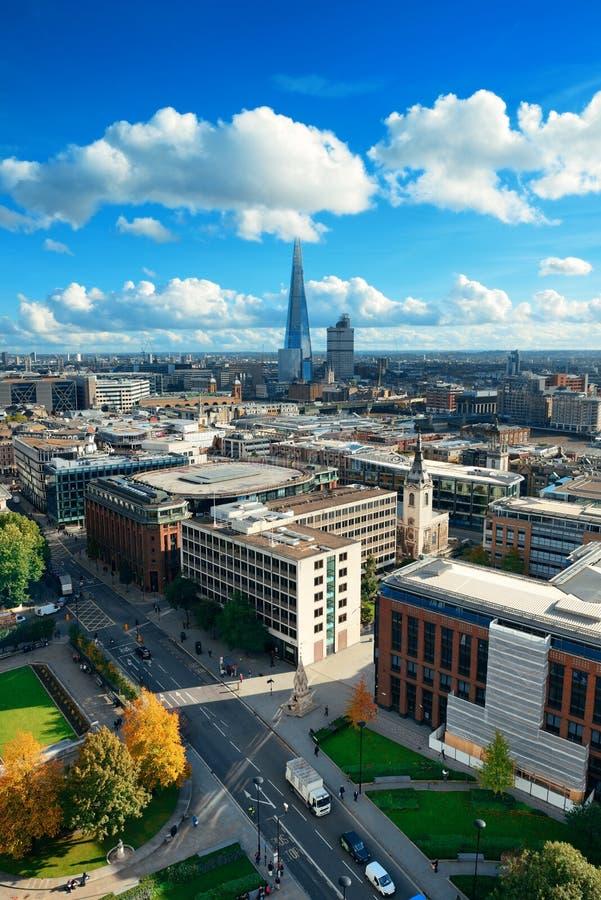 De stadsdak van Londen royalty-vrije stock afbeeldingen