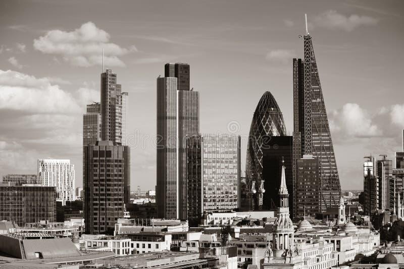 De stadsdak van Londen royalty-vrije stock afbeelding