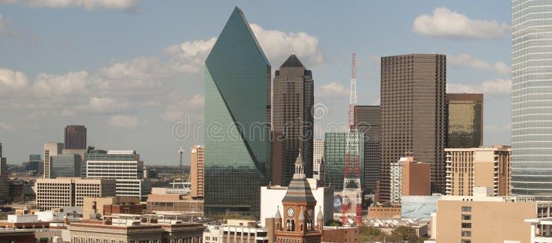 De stadshorizon van Dallas royalty-vrije stock foto