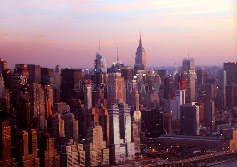 De stadshorizon van New York royalty-vrije stock fotografie