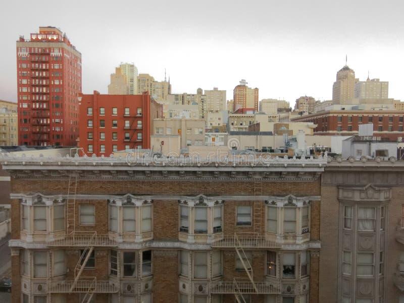 De stadshorizon van San Francisco royalty-vrije stock fotografie