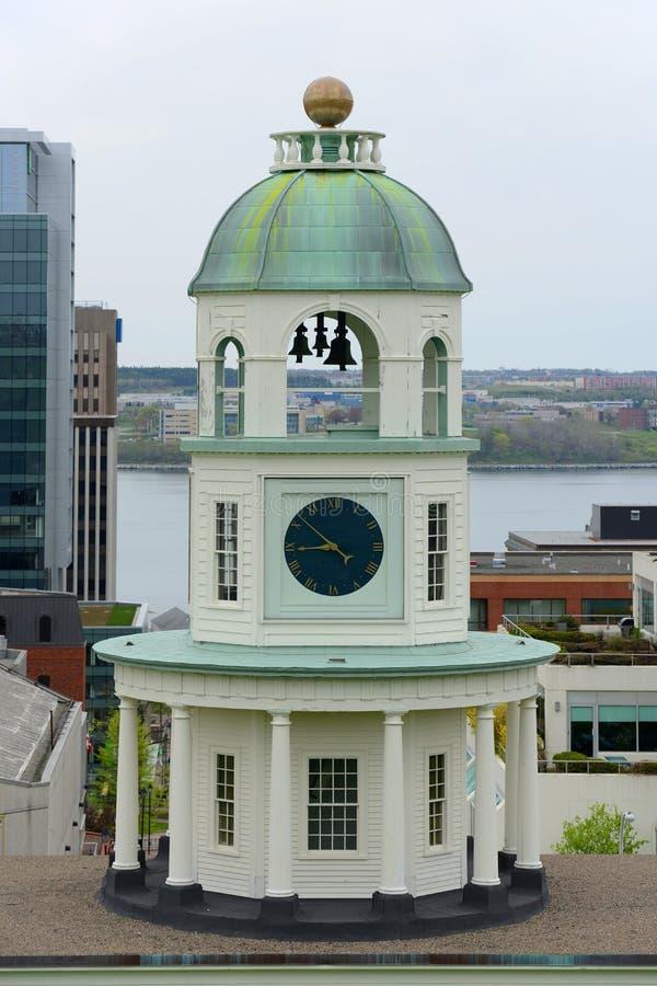 De Stadsklok van Halifax, Nova Scotia, Canada royalty-vrije stock fotografie