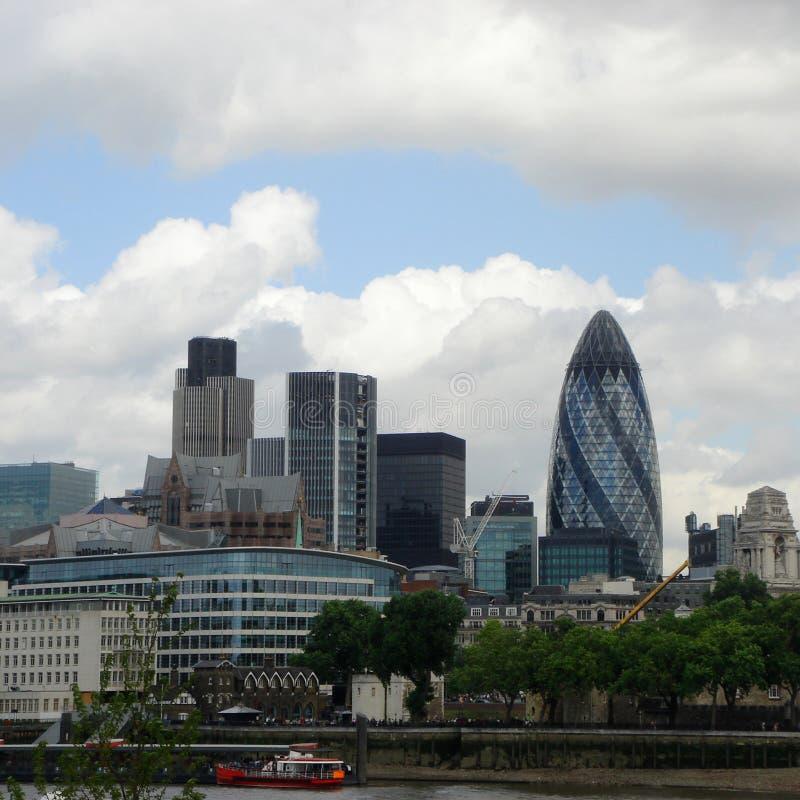 De stadslandschap van Londen stock foto