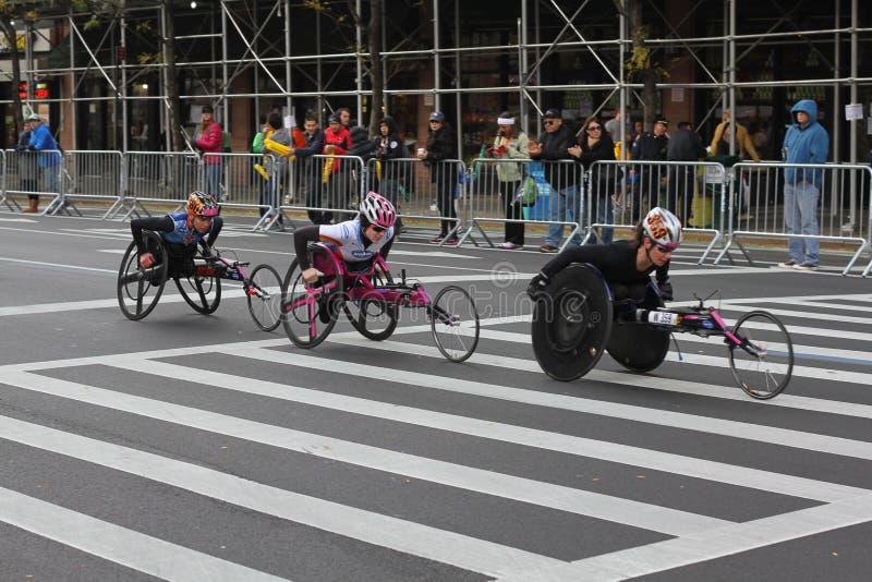 De Stadsmarathon 2013 van New York stock foto