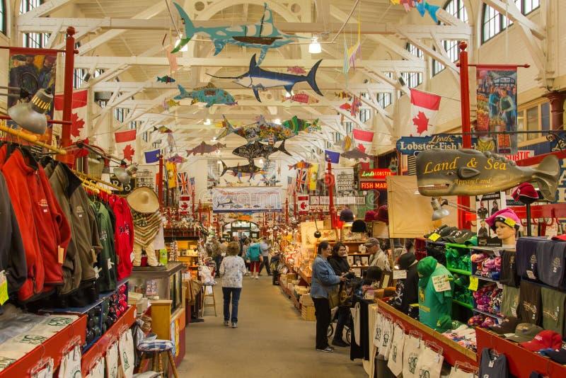 De Stadsmarkt van heilige John NB royalty-vrije stock foto's