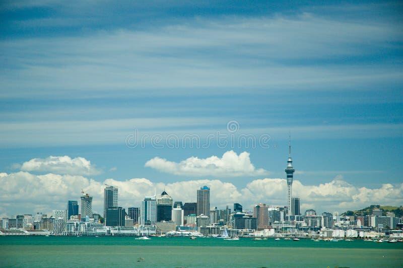 De stadsmening van Auckland royalty-vrije stock afbeelding