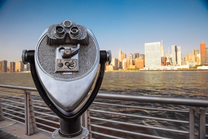 De Stadsmening van New York stock foto