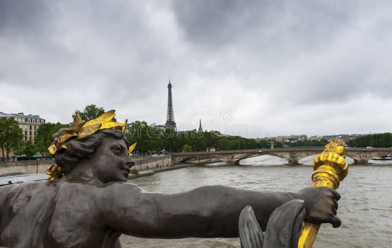 De Stadsmening van Parijs royalty-vrije stock afbeeldingen