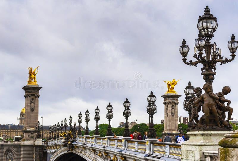 De Stadsmening van Parijs royalty-vrije stock afbeelding