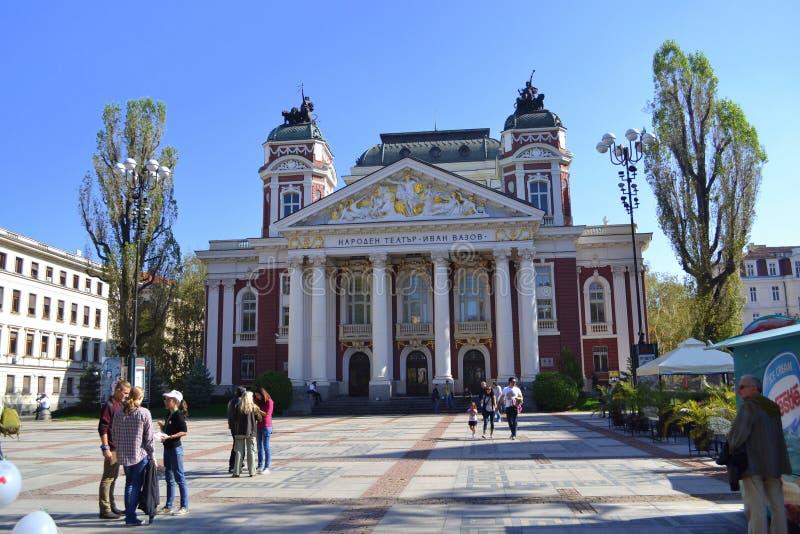 De stadsmening van Sofia, Bulgarije royalty-vrije stock fotografie