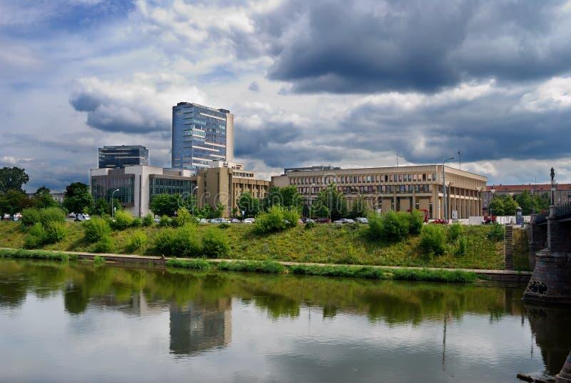 De stadsmening van Vilnius royalty-vrije stock fotografie
