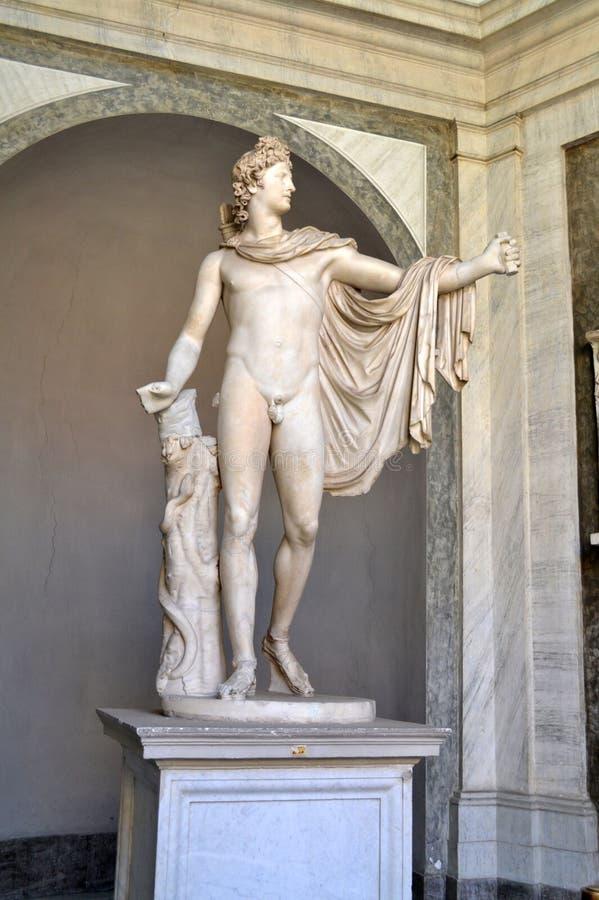 De Stadsmuseum van Vatikaan royalty-vrije stock foto's