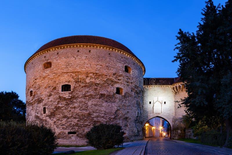 Download De stadsmuur van Tallinn stock afbeelding. Afbeelding bestaande uit architectuur - 39114479