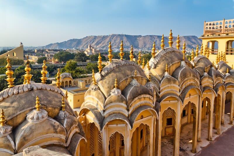 De Stadspaleis van Jaipur stock afbeeldingen