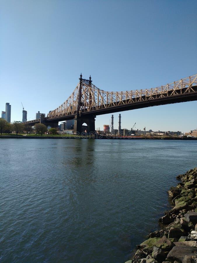 De Stadsvervoer van New York, Queensboro-Brug, NYC, NY, de V.S. royalty-vrije stock fotografie