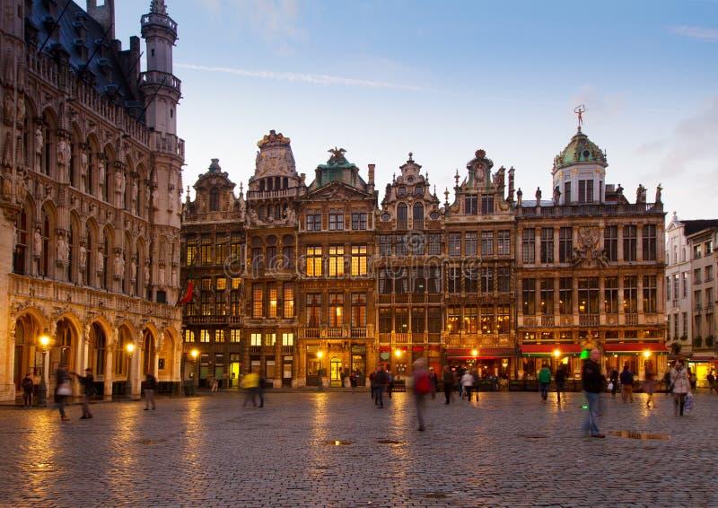 De Stadsvierkant van Grotemarkt, Brusseles royalty-vrije stock fotografie