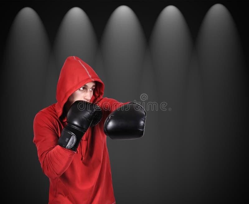 De stakingen van boksermensen royalty-vrije stock afbeeldingen