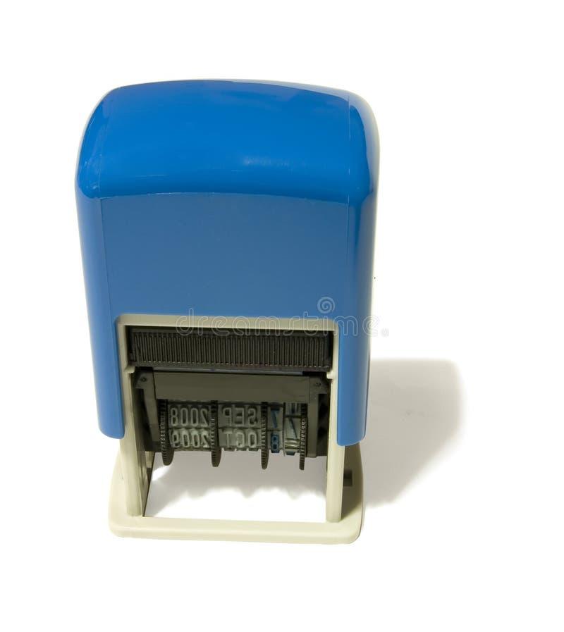 De Stamper van de datum stock fotografie