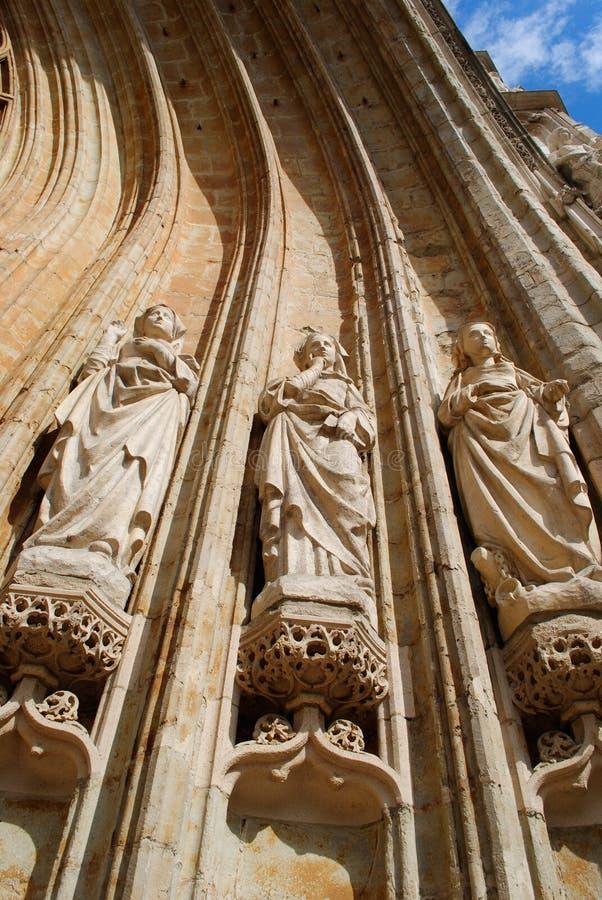 De standbeelden van Cultus. Brussel stock fotografie