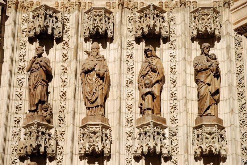 De standbeelden van de apostel royalty-vrije stock afbeeldingen