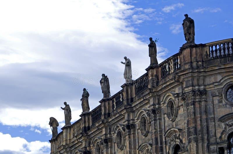 De standbeelden van Dresden royalty-vrije stock afbeelding