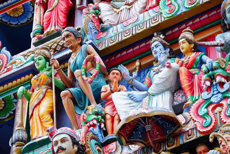 De standbeelden van het hindoeïsme royalty-vrije stock foto