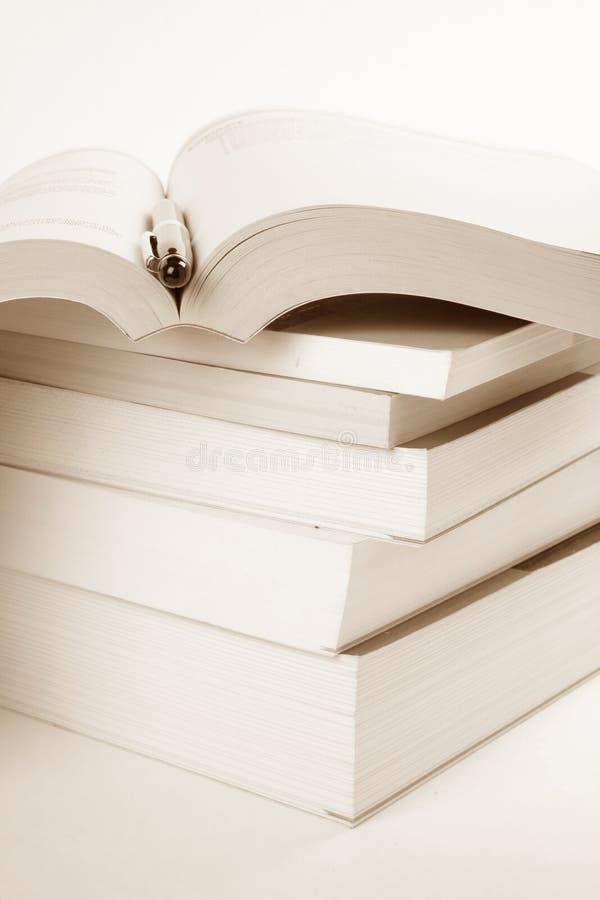 De Stapel van boeken royalty-vrije stock foto's