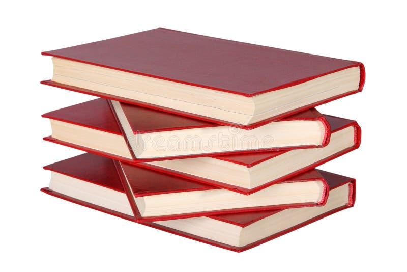 Boekenstapel royalty-vrije stock afbeelding
